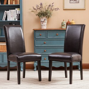 Aranson Parsons Chair (Set of 2) by Red Barrel Studio