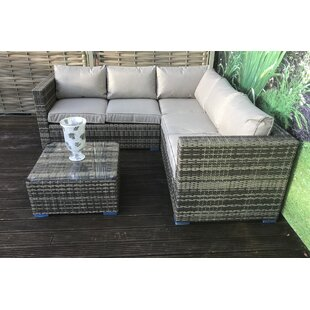 size 40 2e95e fb465 Grey Rattan Corner Sofa Uk | Baci Living Room