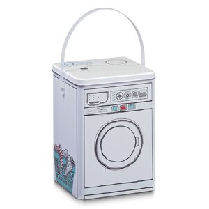 Box Washing Machine aus Metall von Zeller Present