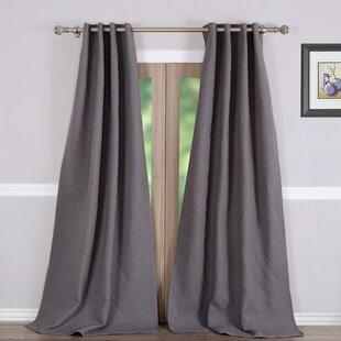 Vashon Solid Blackout Curtain Panels Set Of 2