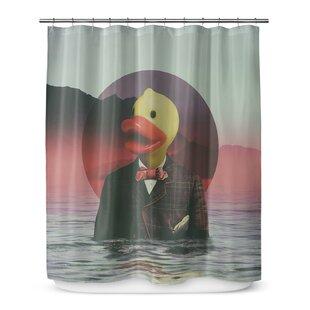 Grossman Rubber Ducky Shower Curtain