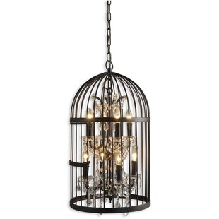 Ketter Birdcage 8 Light Foyer/Lantern Pendant