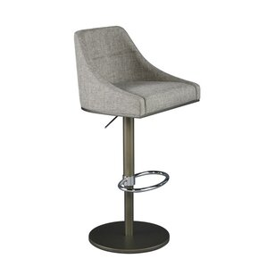 Woodley Adjustable Hydraulic Bar Stool..