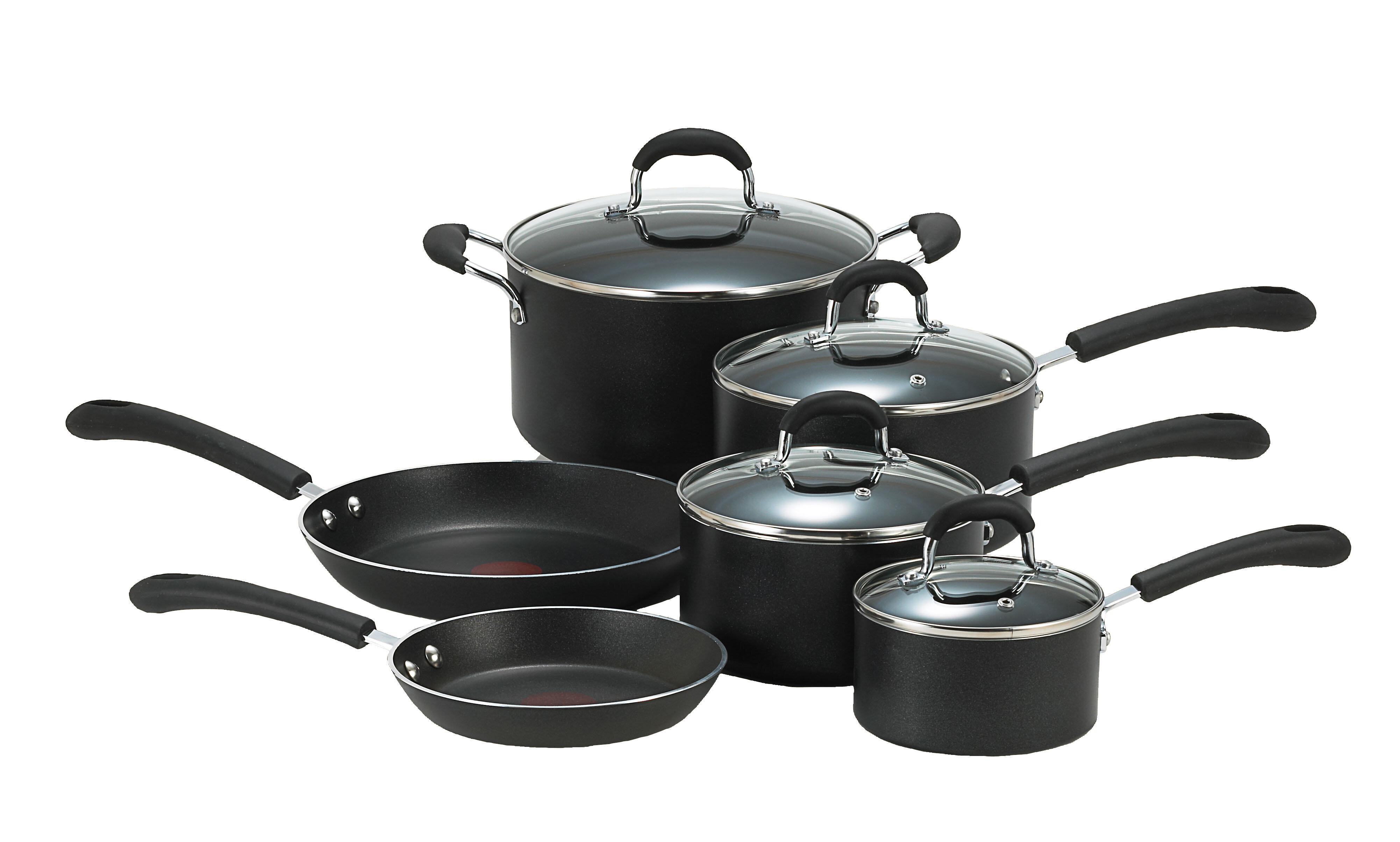 صور اواني مطبخ منزلية أساسية بأحدث موضة Professional-10-piece-non-stick-cookware-set
