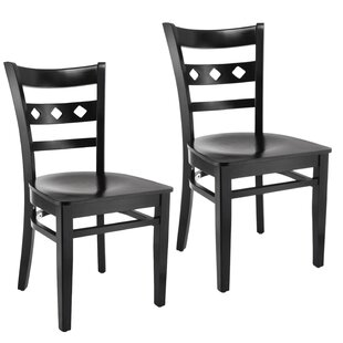 Ewell Solid Wood Dining Chair (Set of 2)