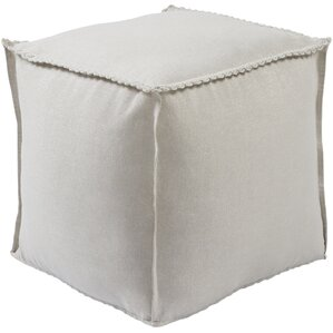 Millstadt Pouf Ottoman by Darby Home Co