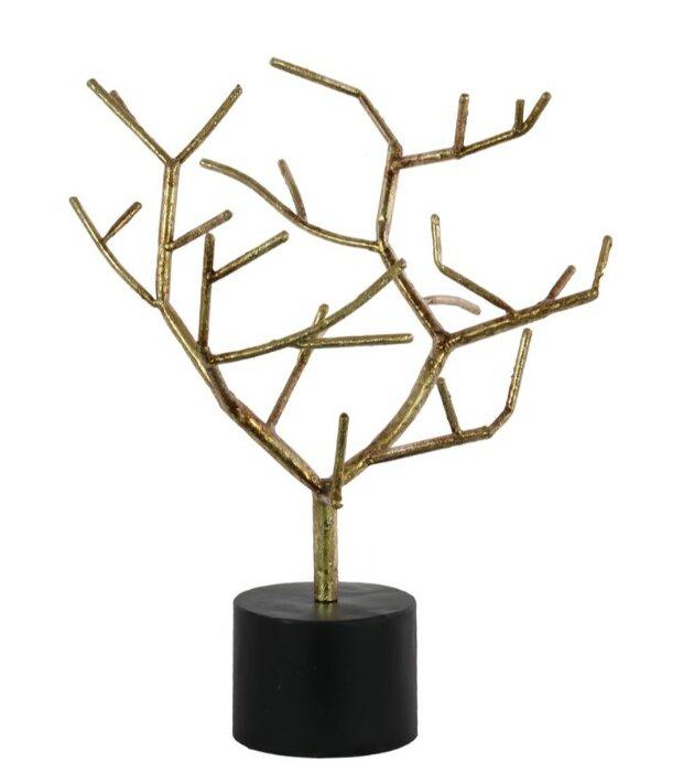 Jan Metal Tree Branch Table Decor On Round Base