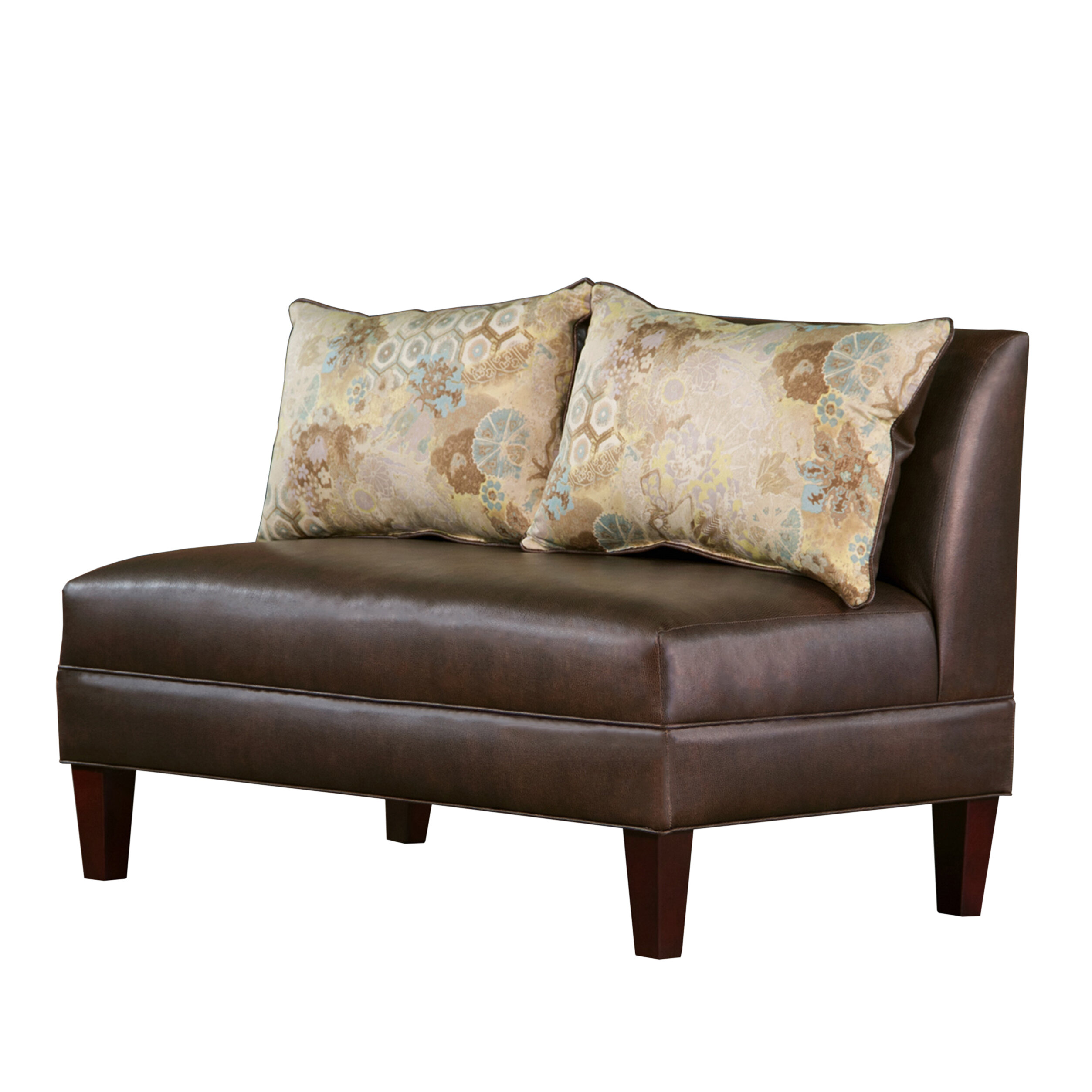Carolina Accents Briley Tracy Porter Armless Loveseat U0026 Reviews | Wayfair