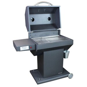 Wood/Pellet Grill with Smoker