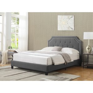 Klerken Upholstered Platform Bed by House of Hampton