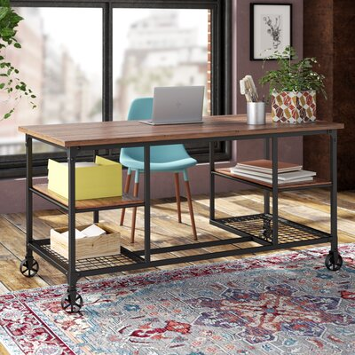 Desk With Wheels Amp Casters You Ll Love Wayfair