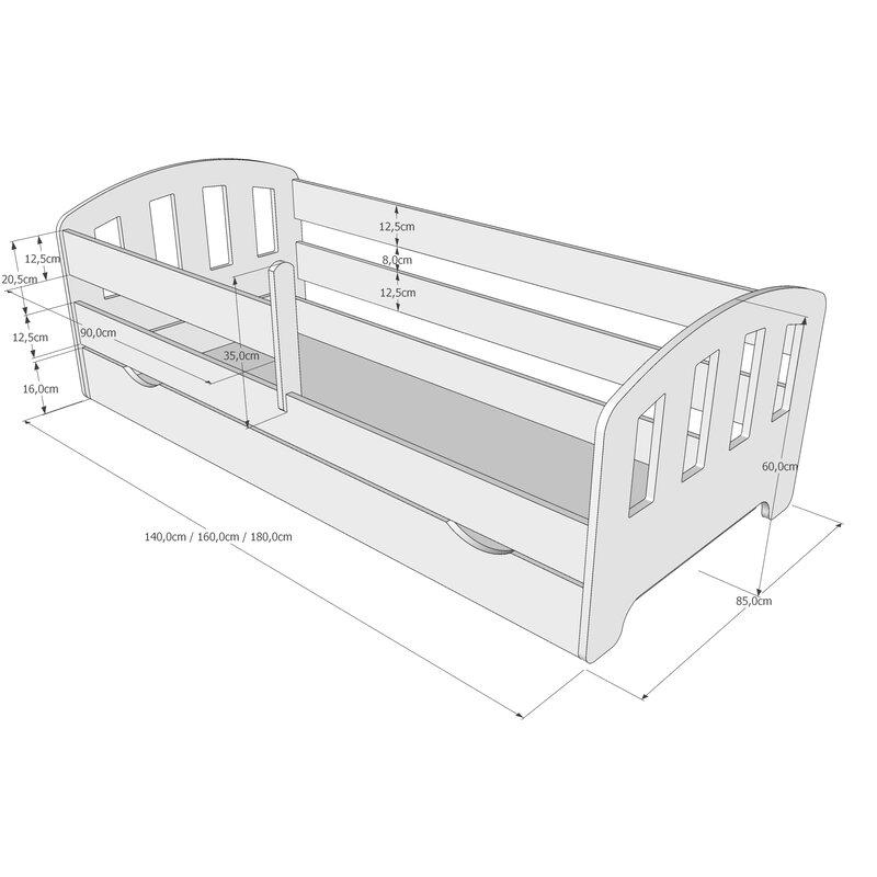 matratze 90 x 160 awesome billerbeck classic airtec x cm hrtegrad h medium with matratze 90 x. Black Bedroom Furniture Sets. Home Design Ideas