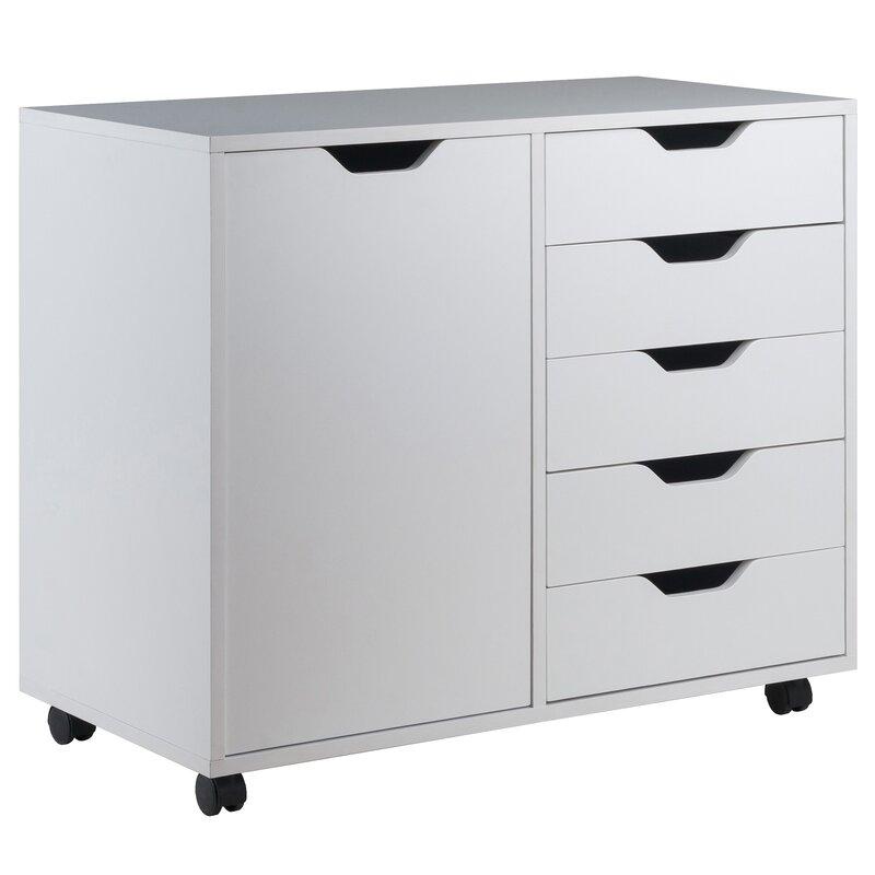 Crandon 5 Drawer Vertical Filing Cabinet