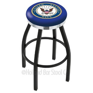 US Armed Forces 30 Swivel Bar Stool