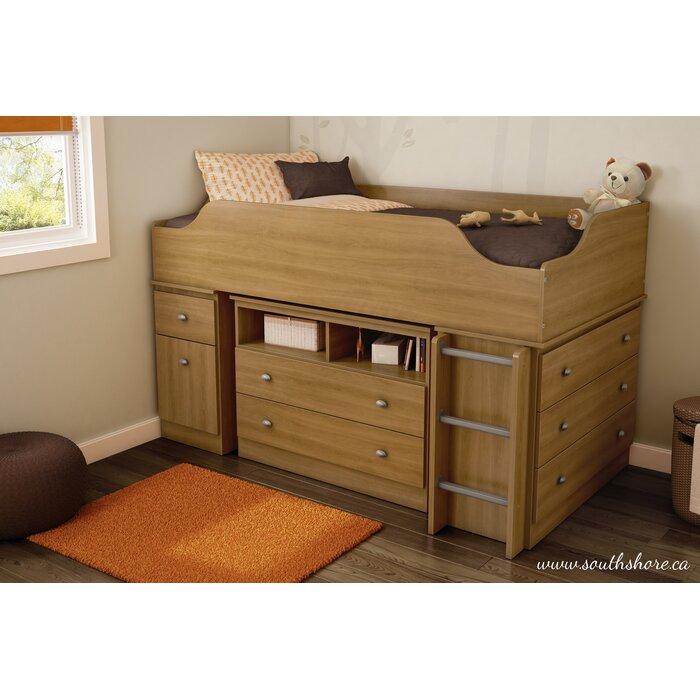 Tree House Twin Loft Bed Configurable Bedroom Set