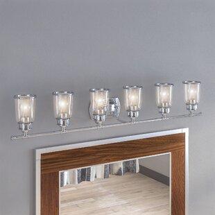 6 Or More Light Bathroom Vanity Lighting Youu0027ll Love | Wayfair