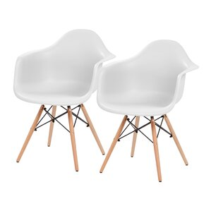 Shell Armchair (Set of 2) by IRIS USA, Inc.
