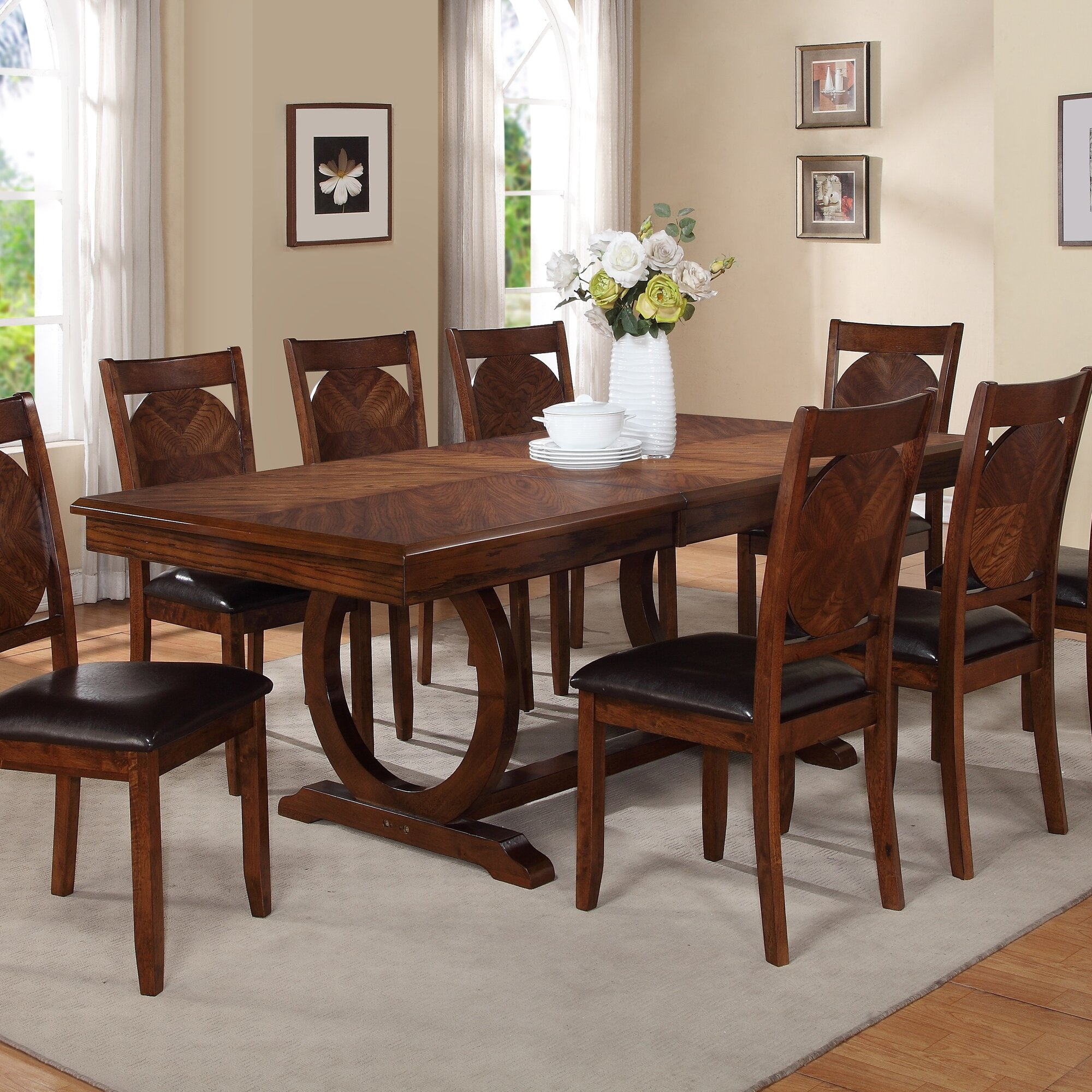 Extendable Dining Room Table World Menagerie Kapoor Extendable Dining Table & Reviews  Wayfair