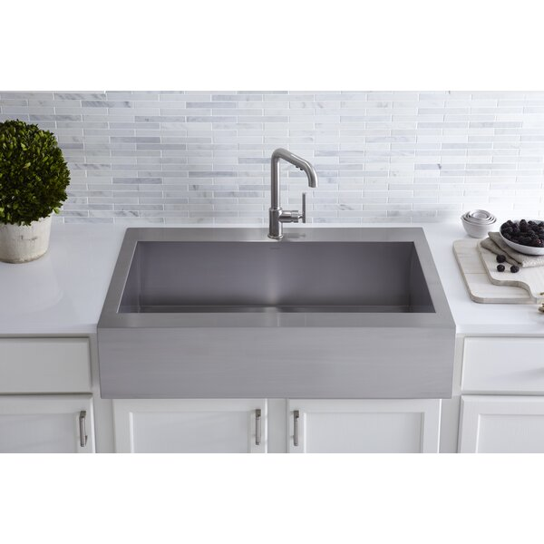 single bowl kitchen sink top mount kohler vault top mount single bowl stainless steel kitchen 9305