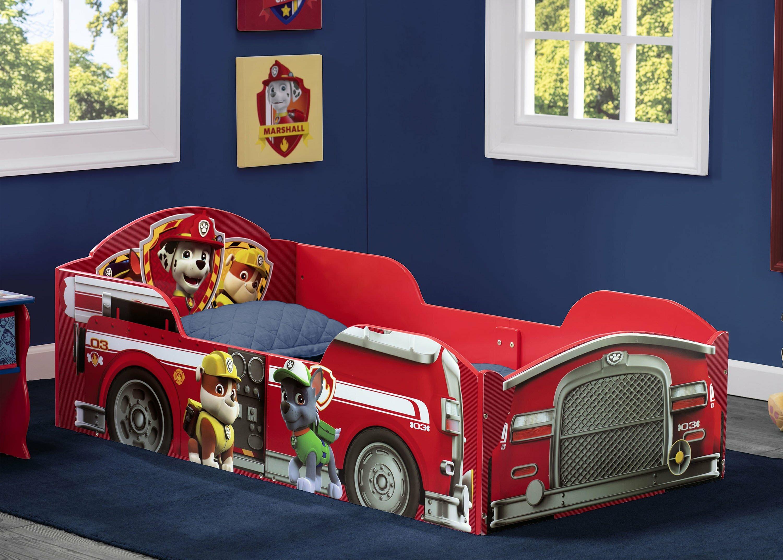 Nick Jr  PAW Patrol Toddler Car Bed