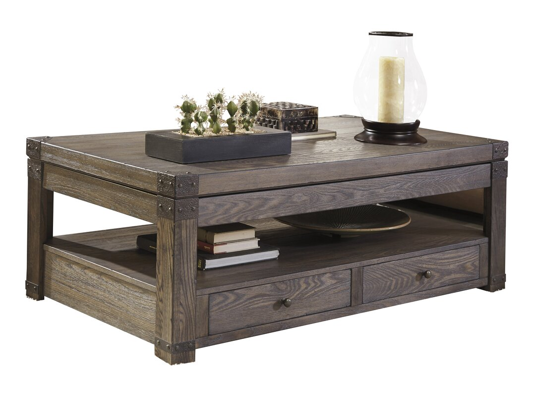 Spooner Coffee Table With Lift Top