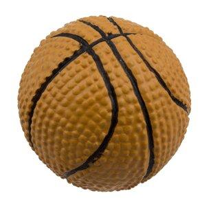 Merveilleux Handpainted Basketball Round Knob