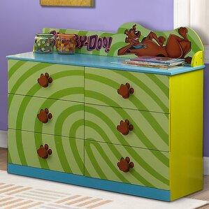 Scooby Doo 6 Drawer Double Dresser by O'Kids Inc.