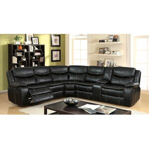 Schumann Transitional Reclining Sectional by..