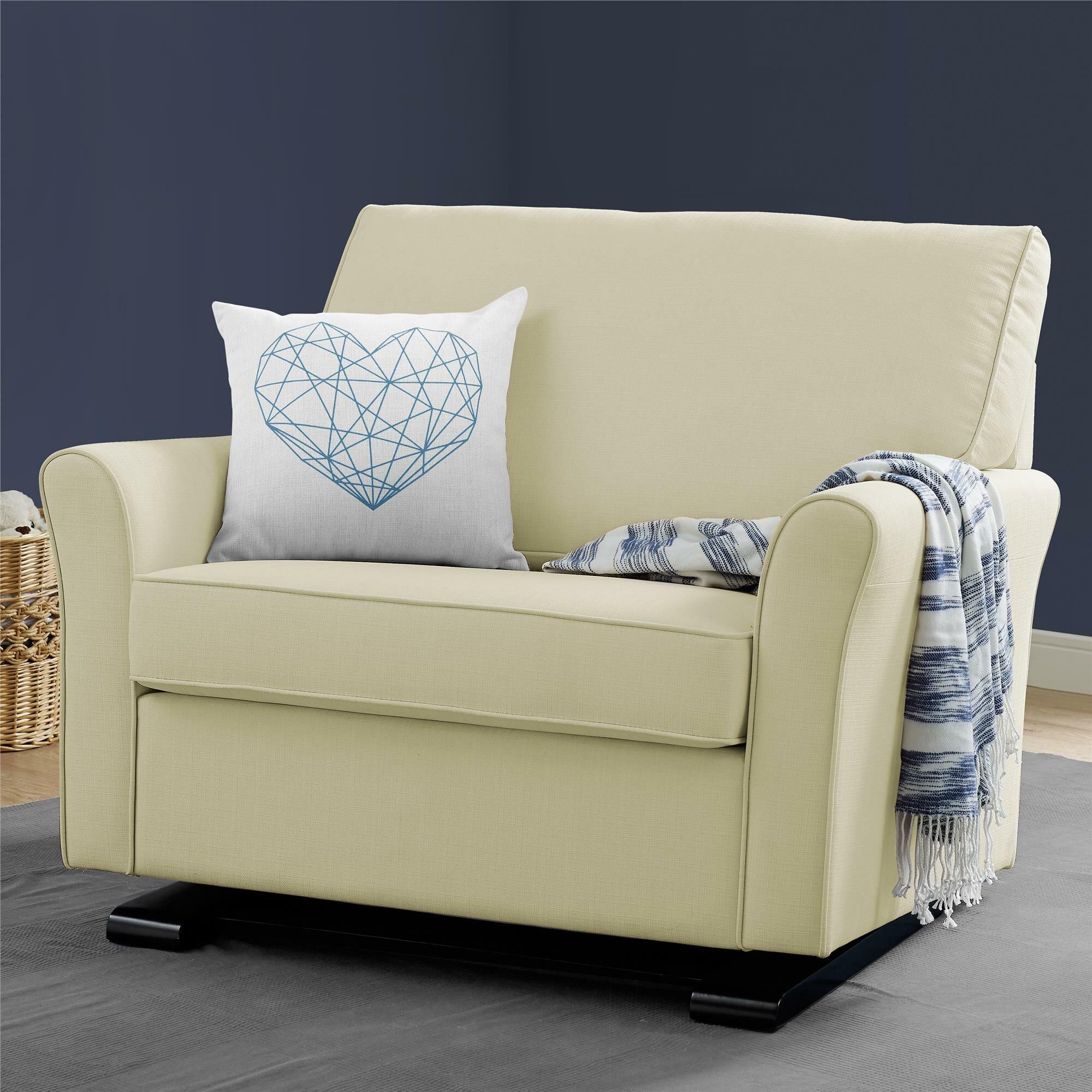 Brayden Studio Kilmarnock Chair And A Half Glider U0026 Reviews   Wayfair
