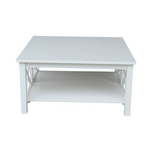 Square White Coffee Tables Youu0027ll Love | Wayfair