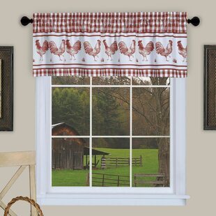Rooster Kitchen Valances | Wayfair