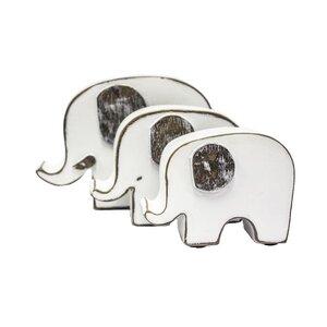 Archer Elephant Family Wall Decor Figurine