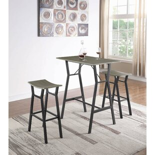 Carrico 3 Piece Pub Table Set
