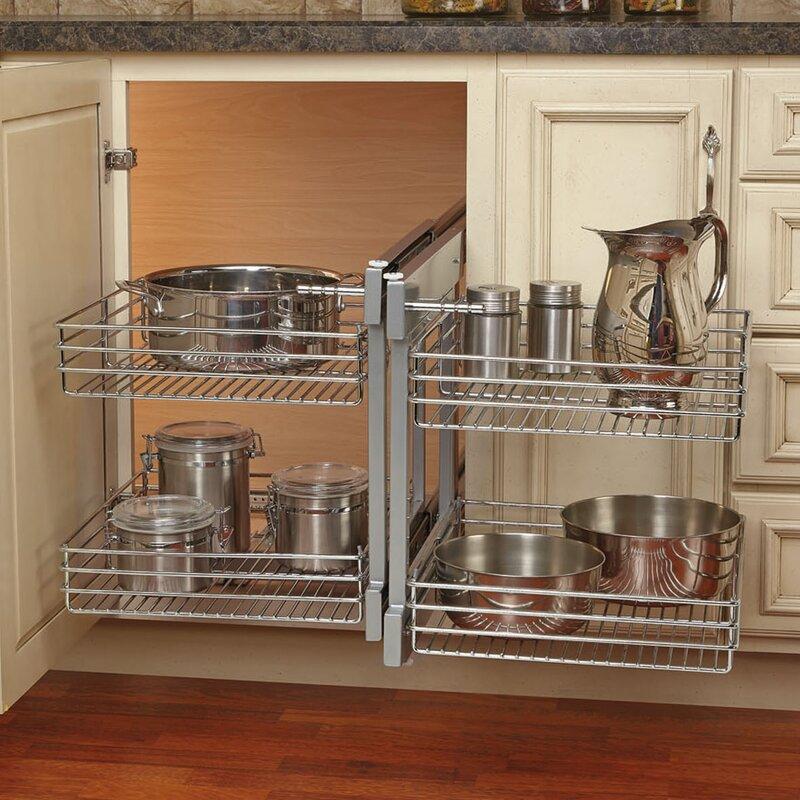 Kitchen Cabinet Blind Corner Optimizer