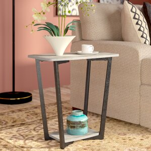 Duval End Table by World Menagerie