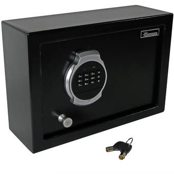 Perma Vault Wall Safe with Keyless Entry | Wayfair