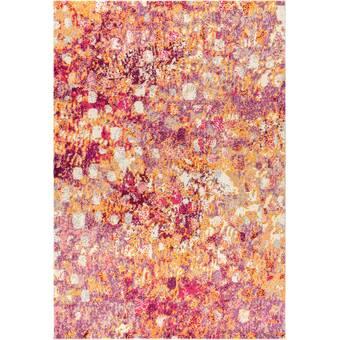 Teppich Lasley In Orange