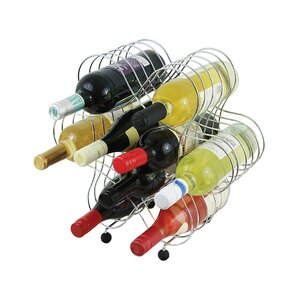 Fishman 9 Bottle Floor Wine Rack by Ebern Designs