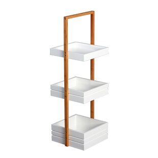 Exceptionnel Bamboo Free Standing Shower Caddy