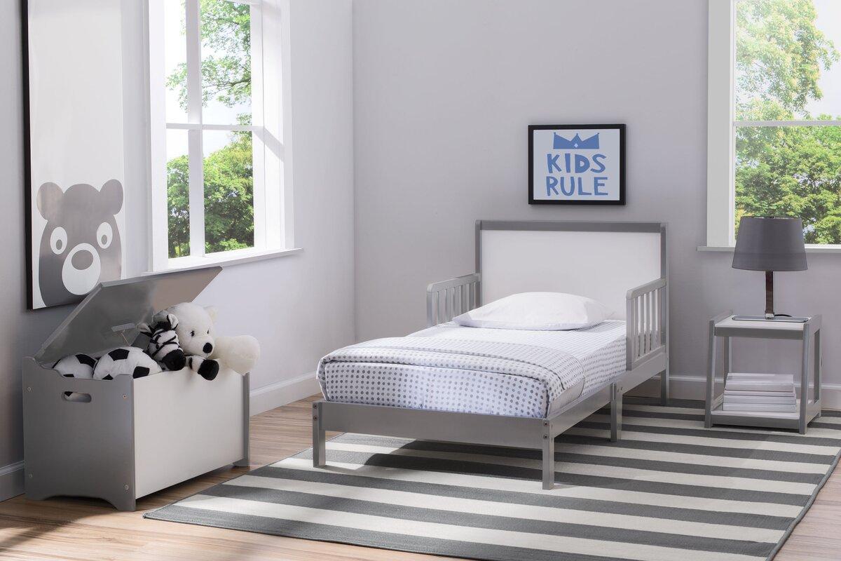 Delta Children Aster 3 Piece Panel Bedroom Set & Reviews | Wayfair