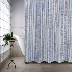 tan striped shower curtain. Ewen Shower Curtain Striped Curtains You ll Love  Wayfair