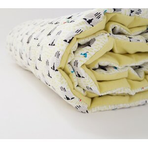 Sheep Citron Toddler Comforter
