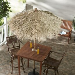 patio furniture for small spaces. 5-7 Foot Patio Umbrellas Patio Furniture For Small Spaces S