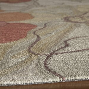 Unionville Hand-Woven Cream/Brown Area Rug