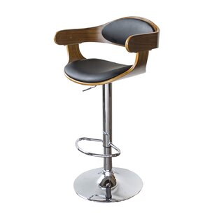 Vanya Adjustable Height Swivel Bar Stool