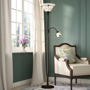 mcelhannon 71 torchiere floor lamp