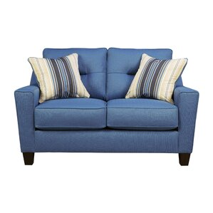 Huebert Loveseat by Andover Mills