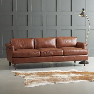 Modern & Contemporary Natuzzi Leather Sofa | AllModern