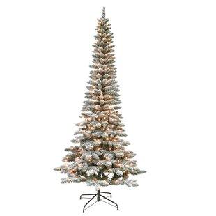 new style 9710b e1e02 Flocked Christmas Trees You'll Love in 2019 | Wayfair.ca