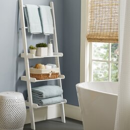 Free Standing Bathroom Shelving